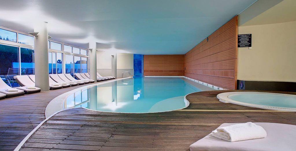 Take advantage of the spa facilities