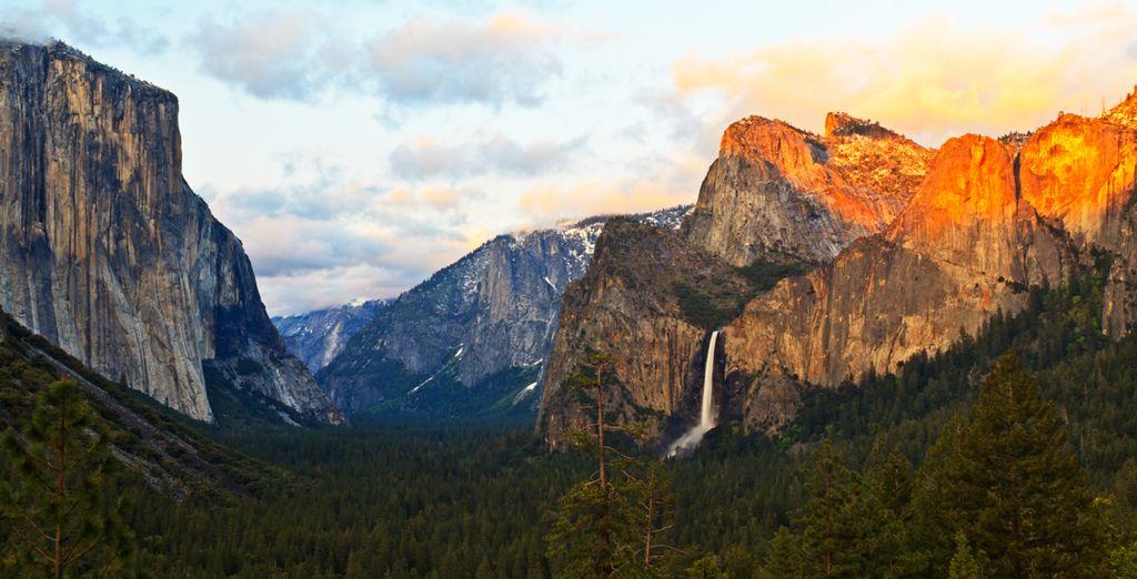 Visit more natural wonders such as Yosemite National Park