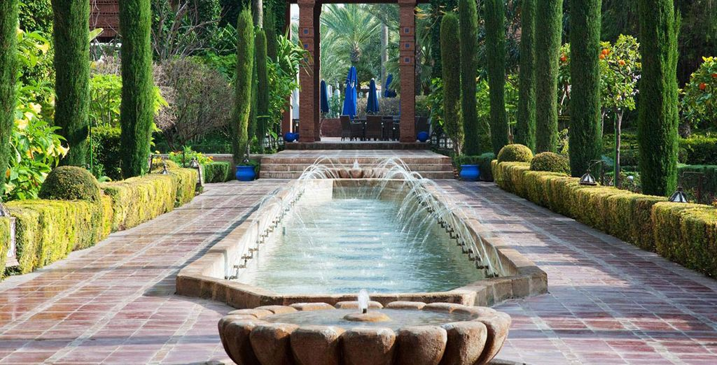 A calm oasis in Marrakech