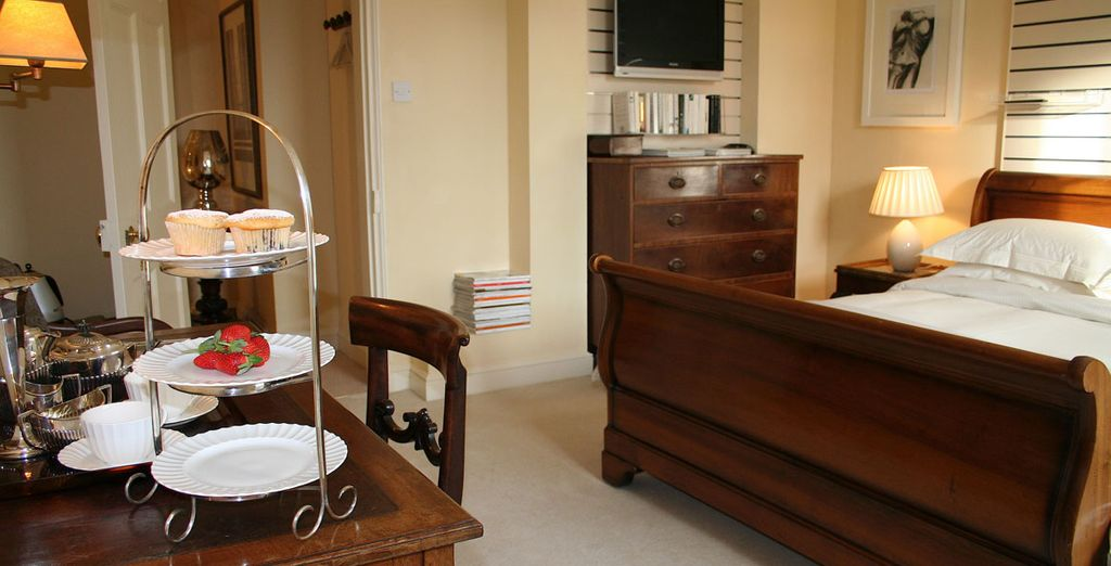 Our members have a choice of room types such as the Garden View Suite