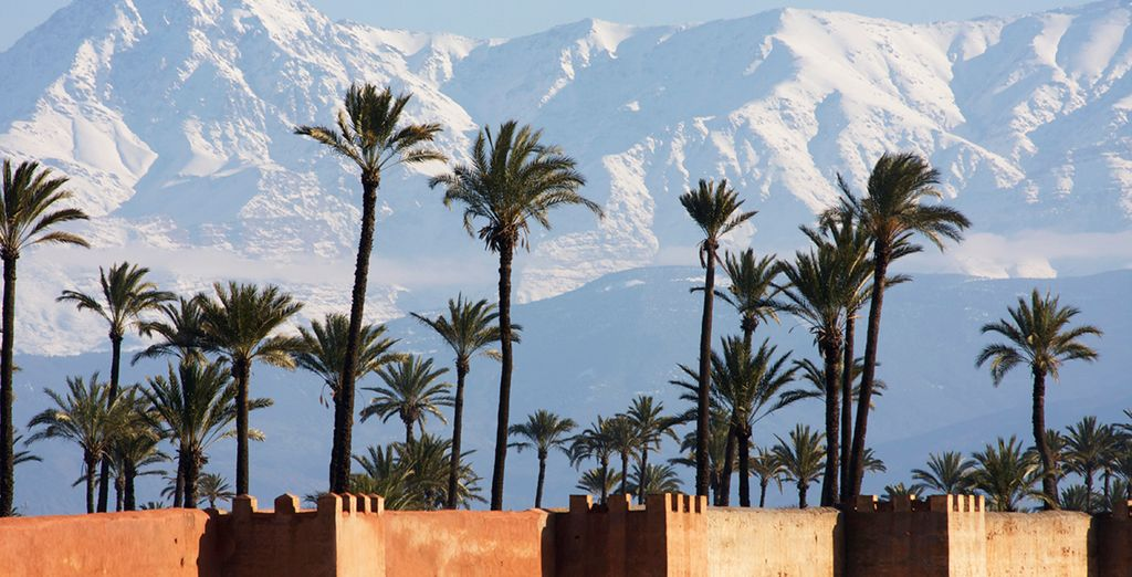 Or head for the cool Atlas mountains...