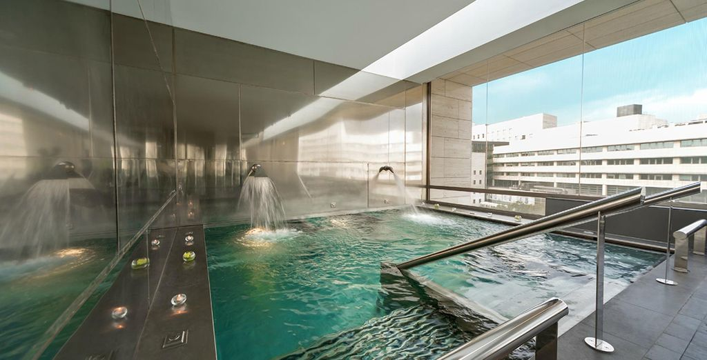 Don't miss out on the luxurious spa