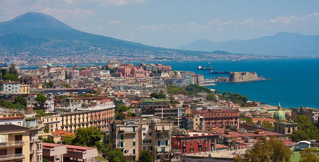 Exploring fantastic Mediterranean destinations, such as Naples - NCL Epic Cruise