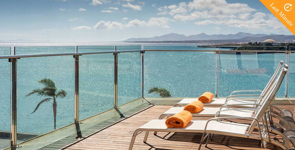 Soak up the sun from the island's tallest building
