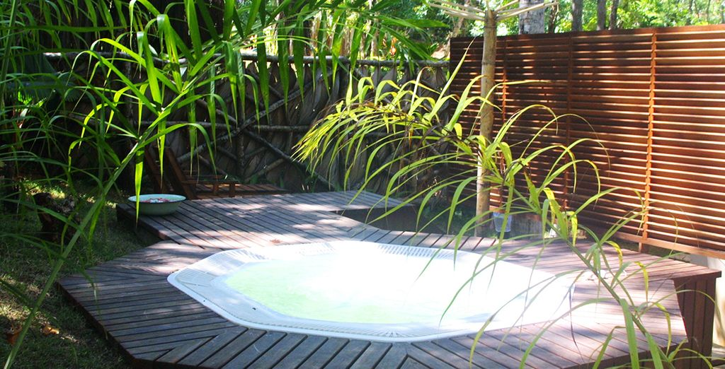 Where you can soak in the Jacuzzi
