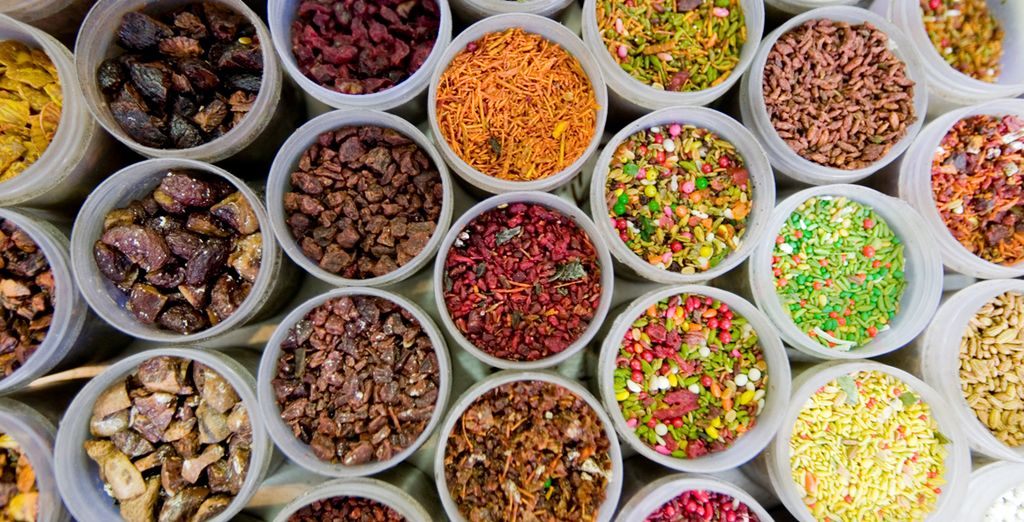 Immerse yourself in the colours, sights and smells...