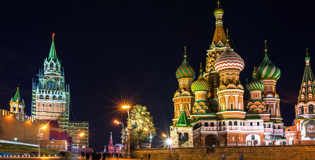 Wander through the iconic Red Square