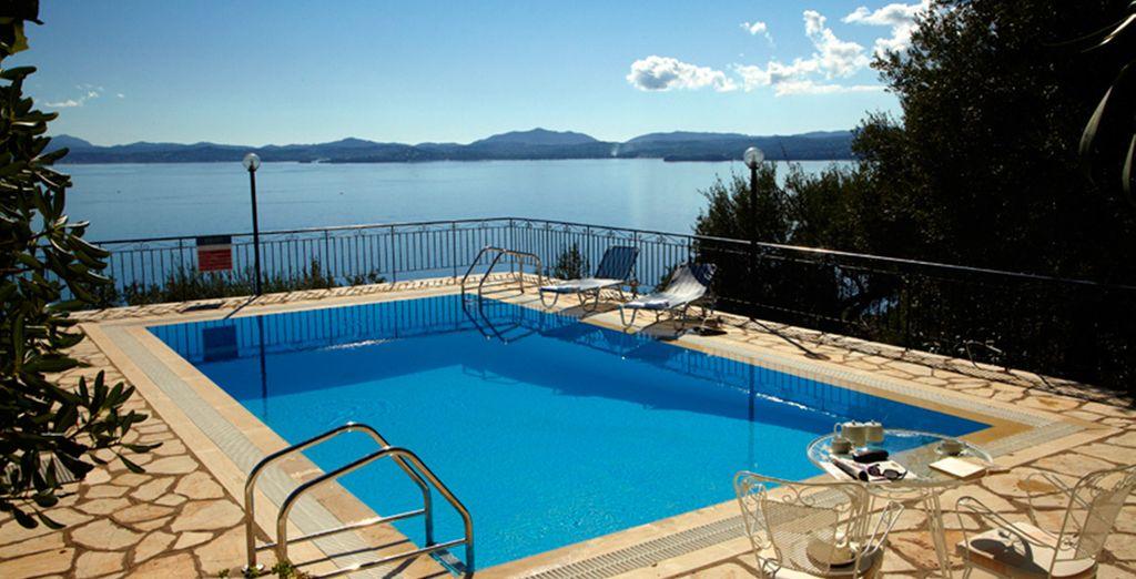 Stay in a fantastic villa with incredible views (Villa Katina) - Corfu Villas Corfu