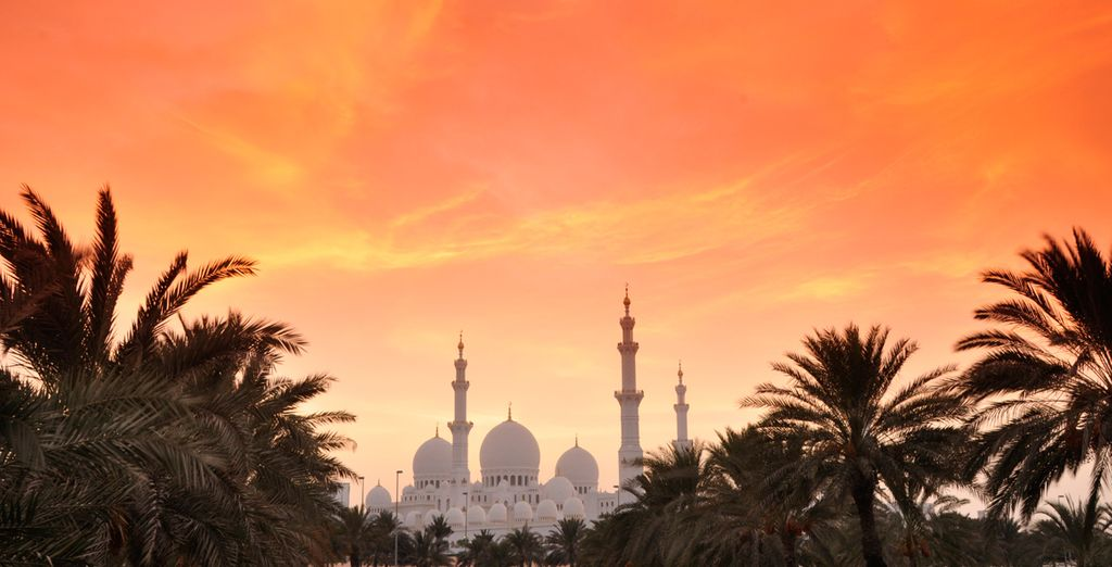 Head out to discover Abu Dhabi's rich culture