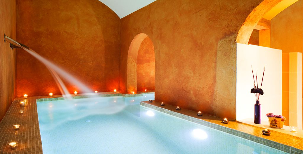 Unwind in the tranquil spa, a peaceful haven