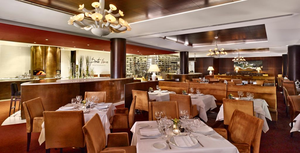 Then dine on fresh local produce at the elegant restaurant