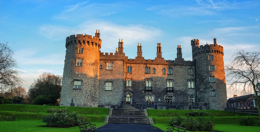 And covers the medieval city of Kilkenny
