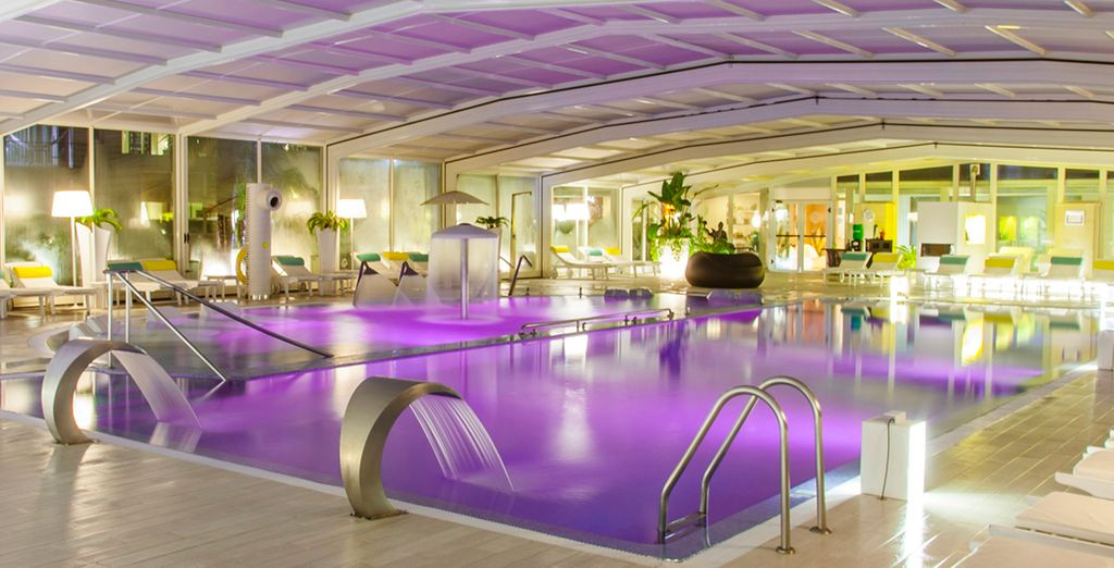 Is coupled with state of the art spa facilities