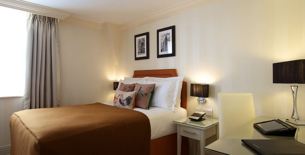 Make your way to your Classic Double Room