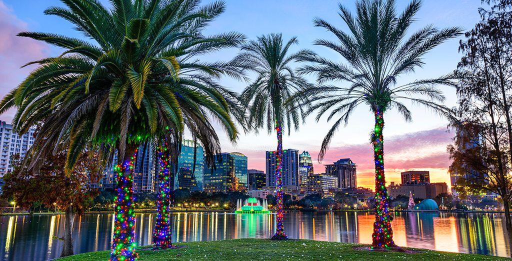 Exploring the sights and soaking up the Florida sunshine!