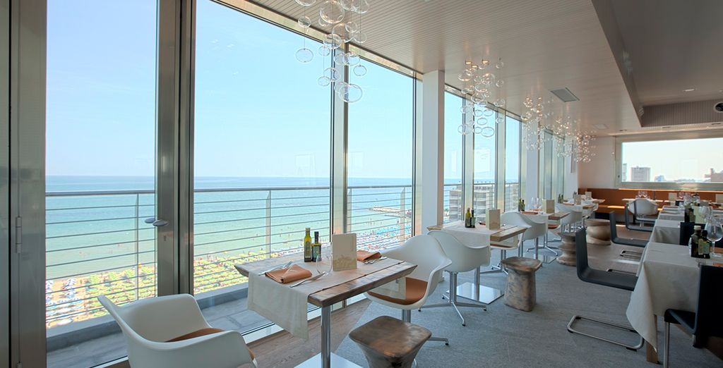 Enjoy the views from the Sky Lounge
