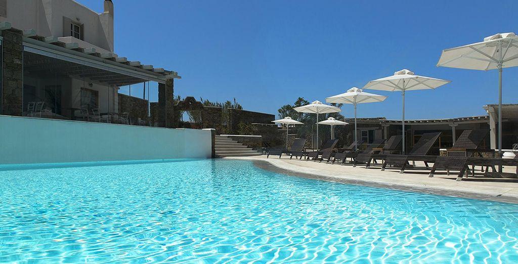 Ftelia Bay Hotel, Mykonos