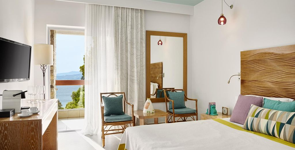 Where you will stay in a Superior Sea View Room