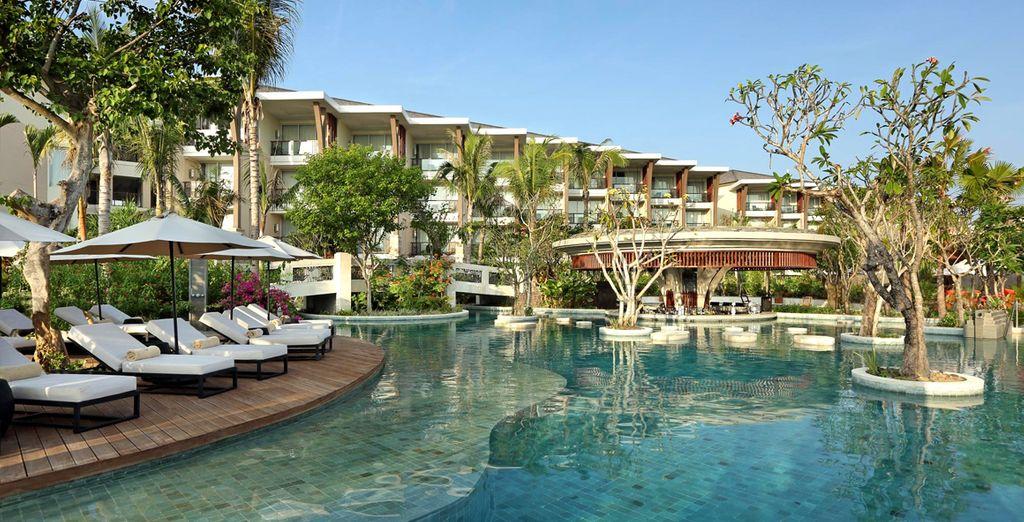 Where the 5* Sofitel Nusa Dua awaits
