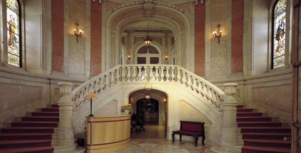 The interiors are impressively grand