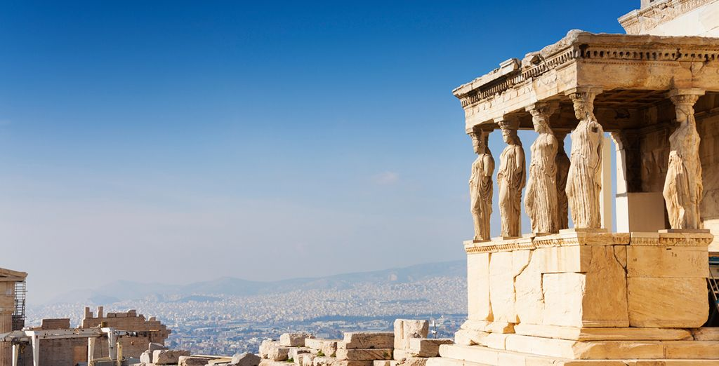 The mythical beauty of Athens