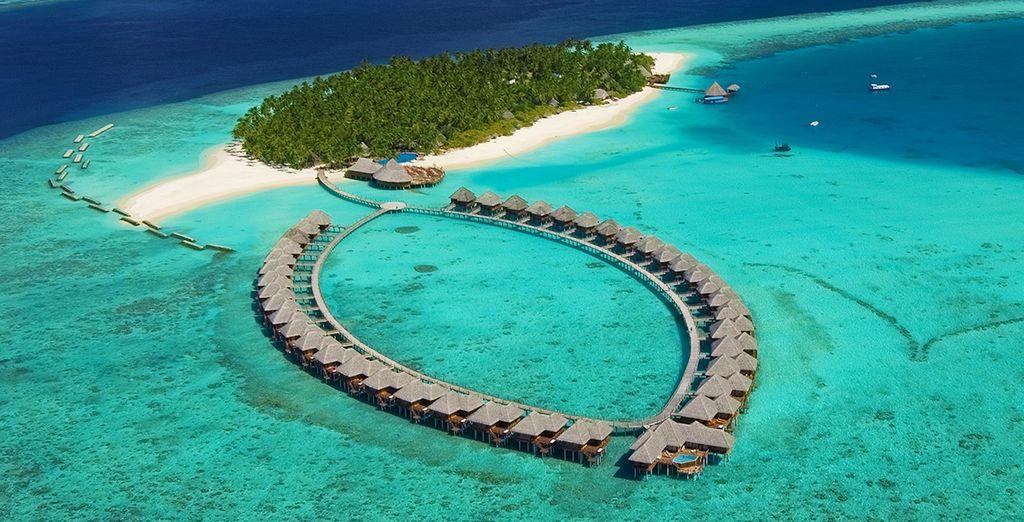 Home to the paradise 5* resort - Sun Aqua Vilu Reef