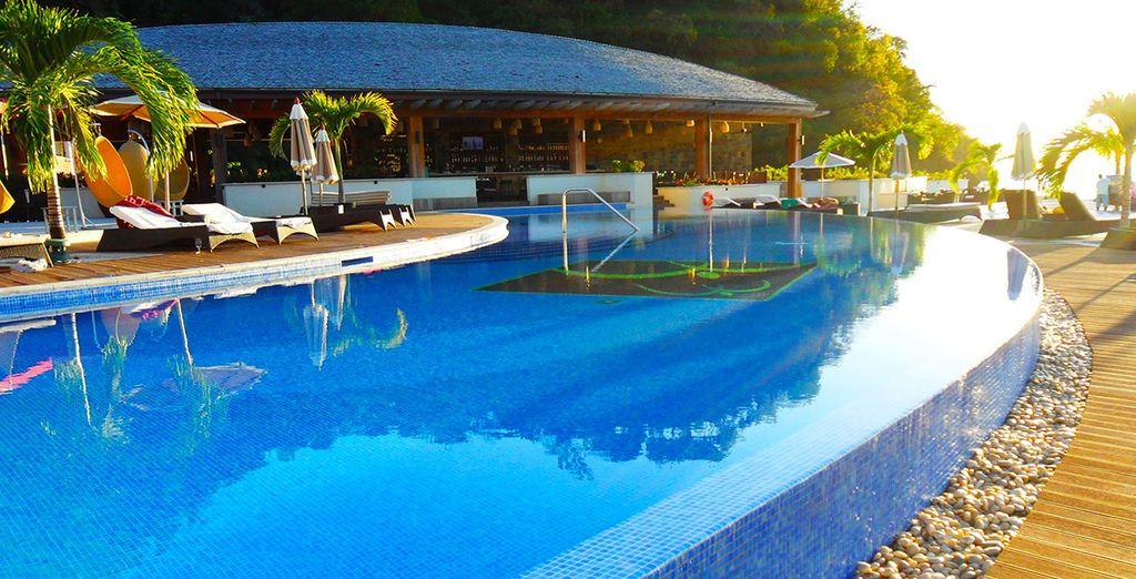 A pool paradise
