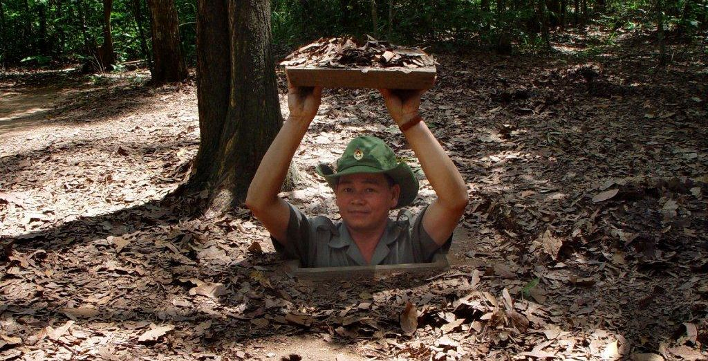 And a trip to the Cu Chi tunnels