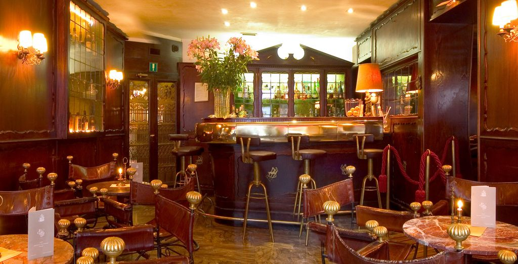 Treat yourself to a drink in the bar