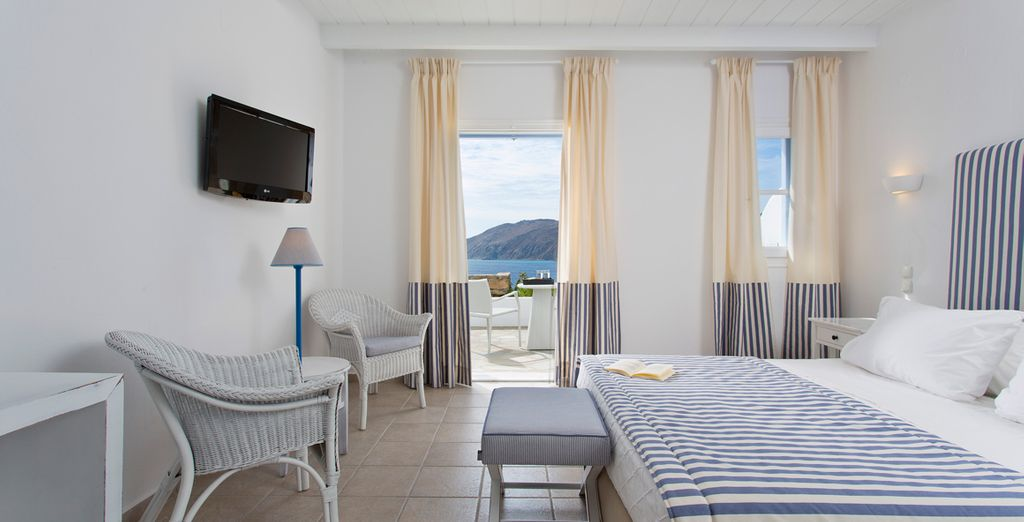 Enjoy the sea view from the comfort of your Premium Room