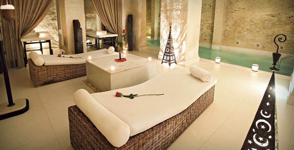 Kick back in the spa to truly unwind and - EME Catedral Hotel 5* Seville