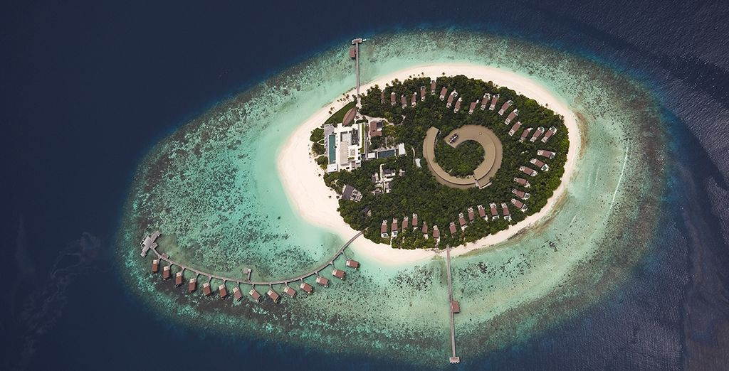 Welcome to paradise... - Park Hyatt Maldives 5* Male