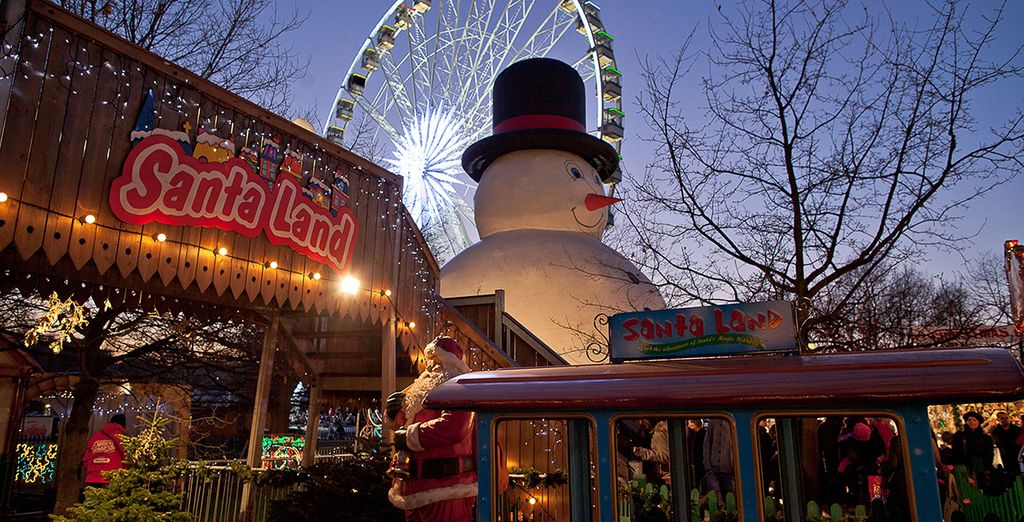 If you're staying between 18th November and 2nd January head to Hyde Park for the epic Winter Wonderland