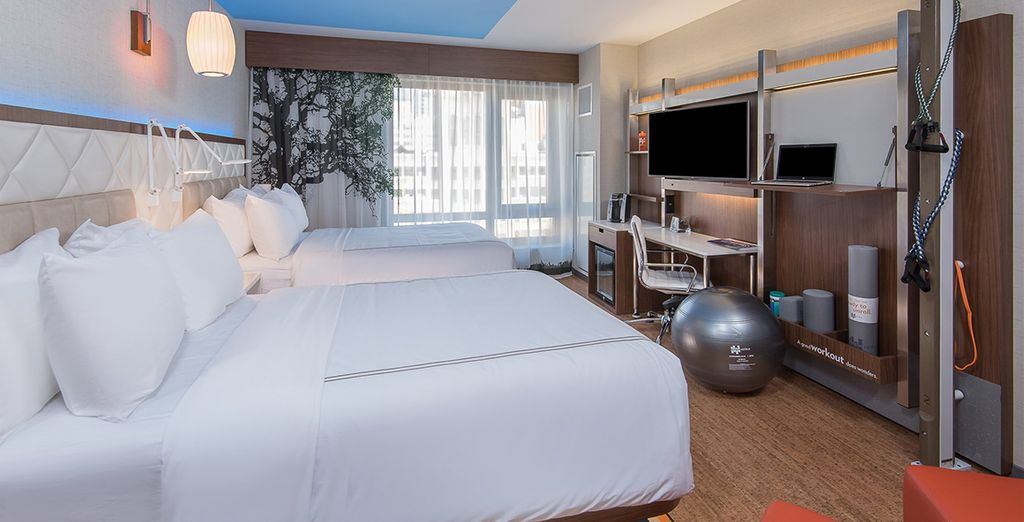 Relax in your wellness room