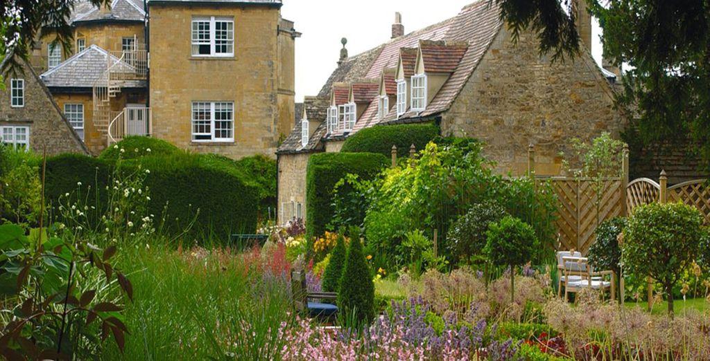 Nestled amongst wonderful gardens and countryside