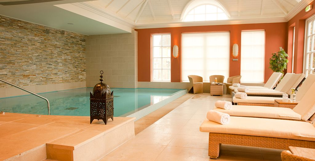 And free access to the spa