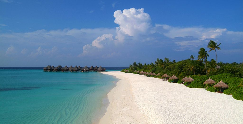 It is the epitome of an idyllic tropical island