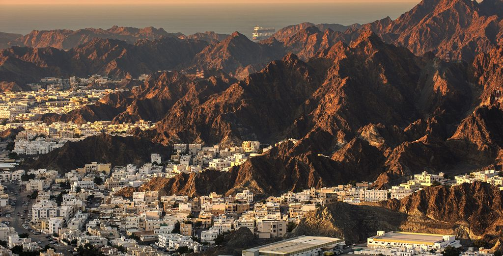 Then we'll whisk you off to the impressive city of Muscat