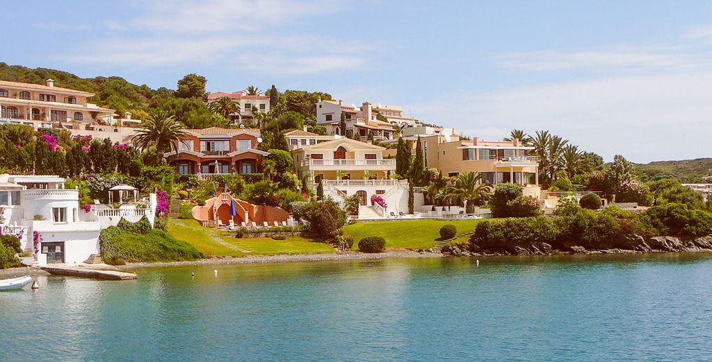 Visit laid back islands such as Menorca