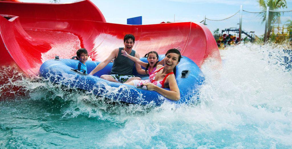 Enjoy Dubai Parks!