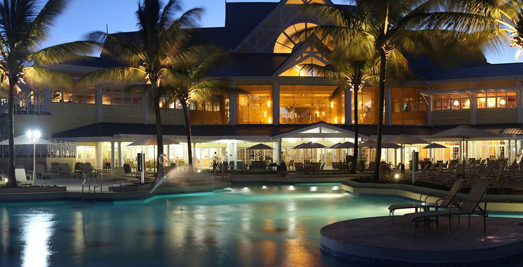 At this Caribbean paradise