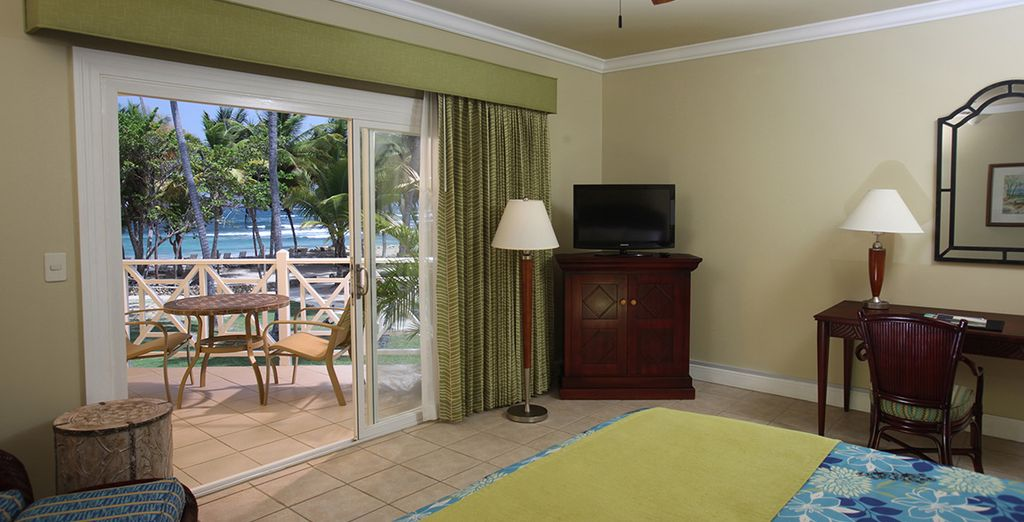 Where your Oceanfront Room
