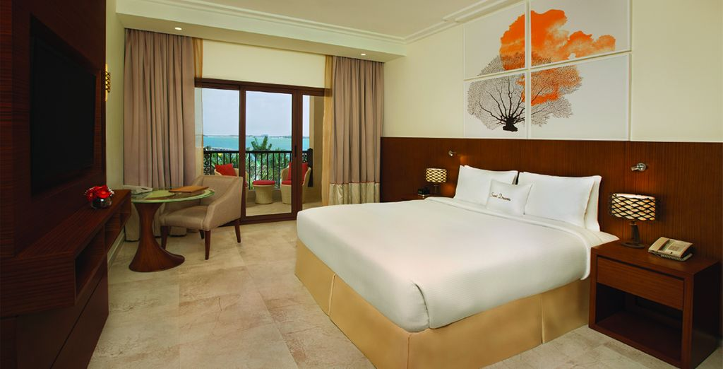 Where our members can enjoy a Sea View Room