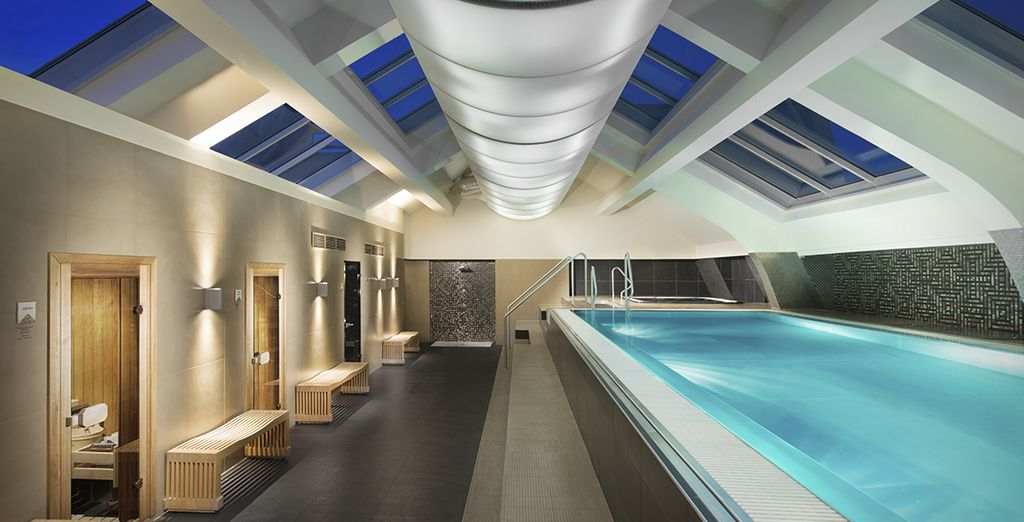 We've thrown in complimentary access to spa and fitness areas