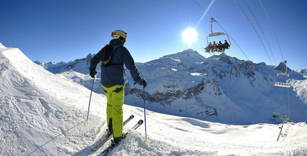 Best attraction for Courchevel ski holidays