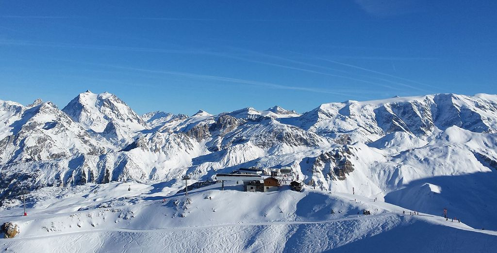Best Ski Resorts in France : Courchevel