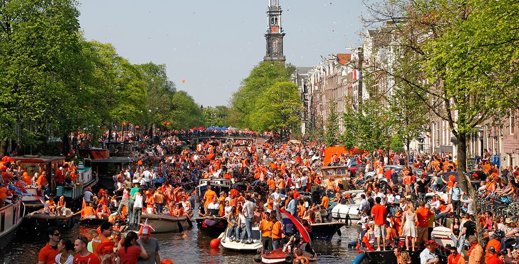 And if you really want to get a flavour for Amsterdam's famous partying why not visit on the 27th April when they celebrate Koningsdag