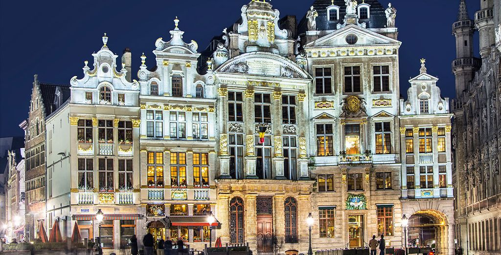Beautiful monuments with history in Brussels
