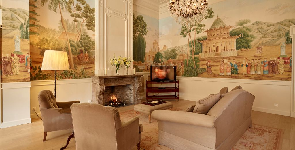 Interiors are cosy and welcoming