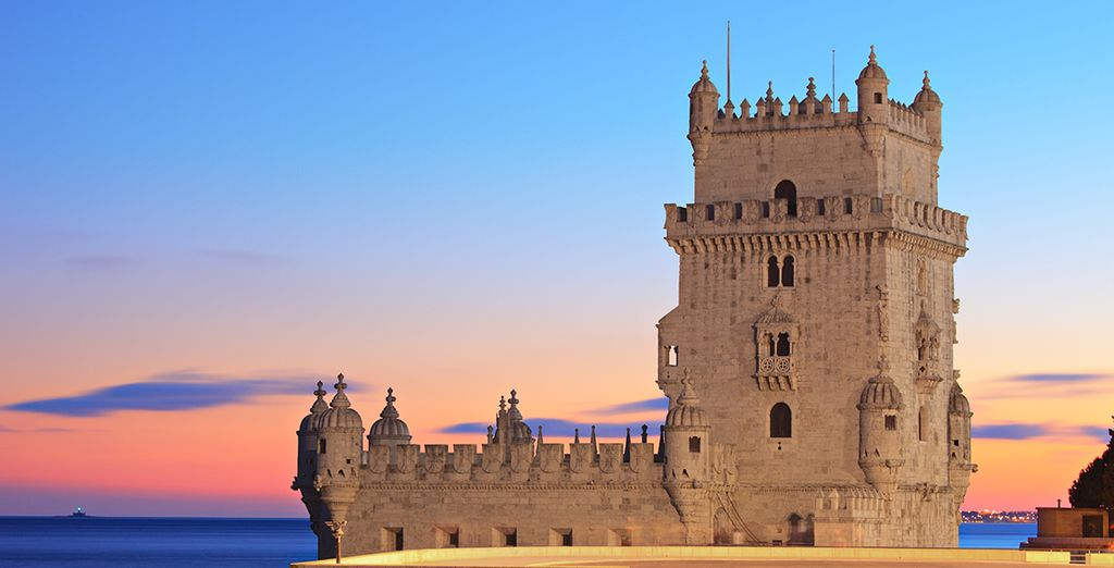 Visit the city's brilliant landmarks, including the famous Belém Tower